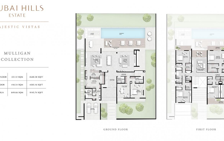 Mulligan Collection Majestic Vistas Floor Plan