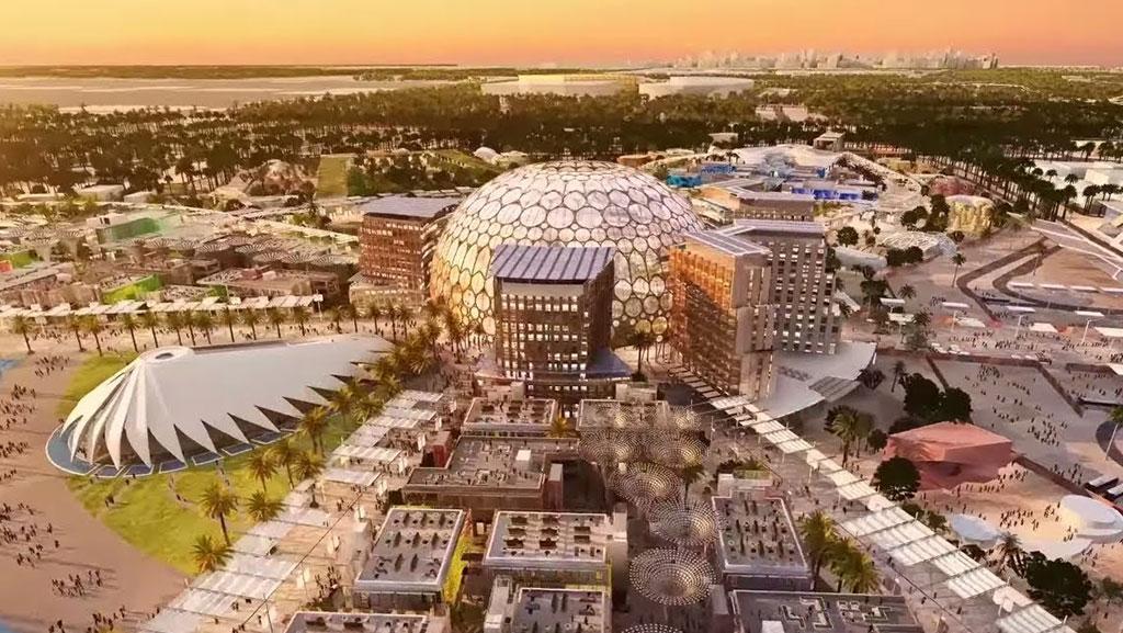 Expo 2020 hall